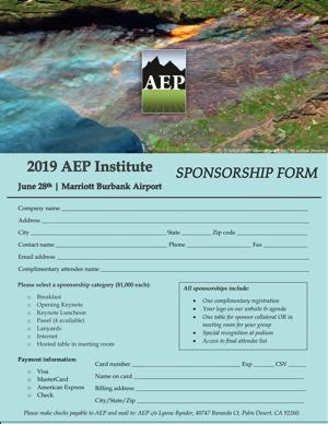 2019 Institute Sponsorship Form tn